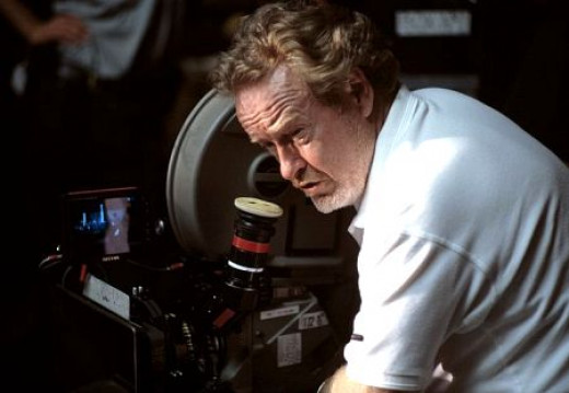 Ridley Scott. Blade Runner, Alien, Gladiator, etc. Living legend.