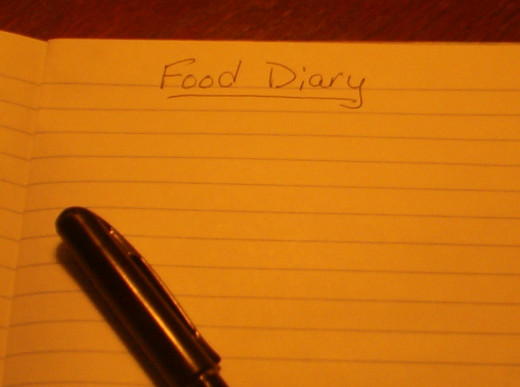 Food diaries shed light on eating patterns.