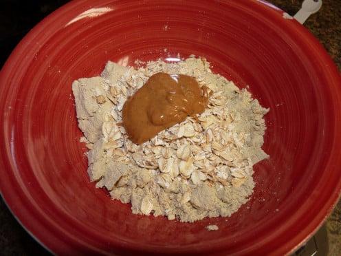 Add Natural Peanut Butter.