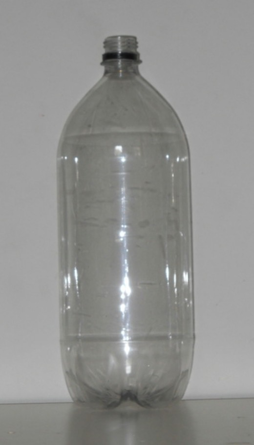 Empty 2 liter with label removed