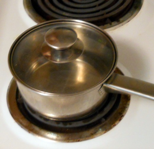 Always use a lid when you boil water!