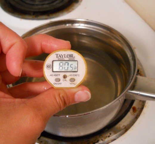 80-90 degrees Fahrenheit is a good temperature for yeast
