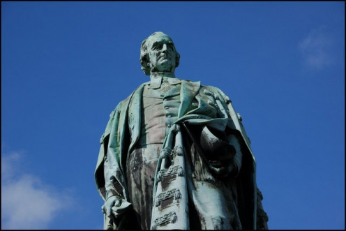Statue of Dr Henry Cooke, College Square East, Belfast