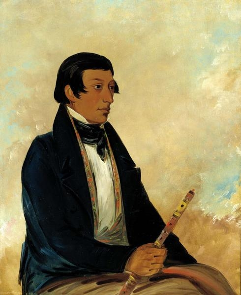 The Miami's Kee-món-saw or Little Chief in 1830.