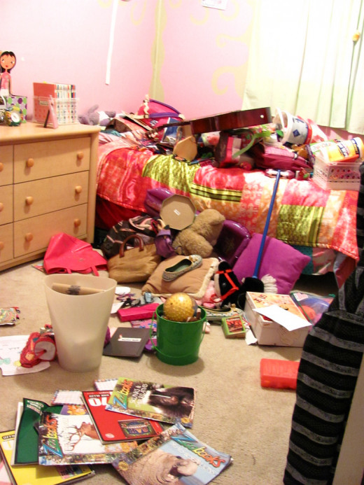 Don't let your room get back to a mess!