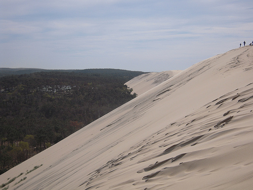 Sand dunes nr Pyla on Atlantic Coast
