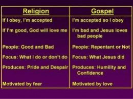 Religion instead of God's word: Creating One's Own God And One's Own Rules Of Worship
