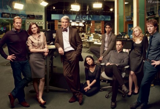 The Newsroom 2012 Cast