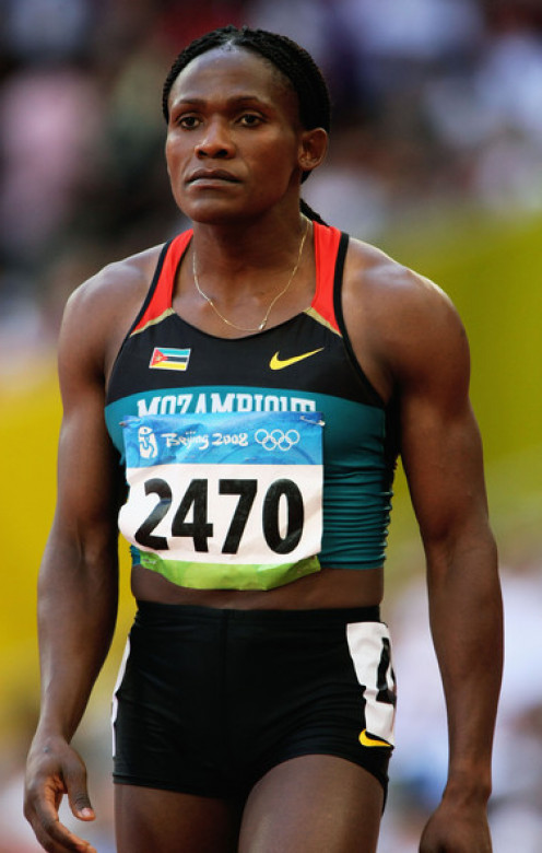 The great Maria Mutola of Mozambique