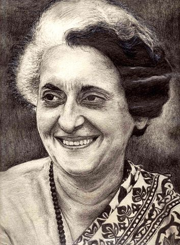 Mrs. Indira Gandhi (1917-1984). She was the First lady Prime minister of India. She worked for the upliftment of the society and especially women. She has set an example for many ladies not only in India but whole world