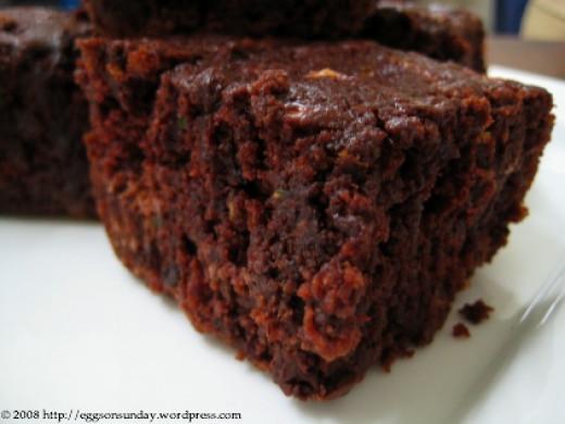 Healthy Chocolate Dessert:The Best Chocolate Zucchini Cake ...