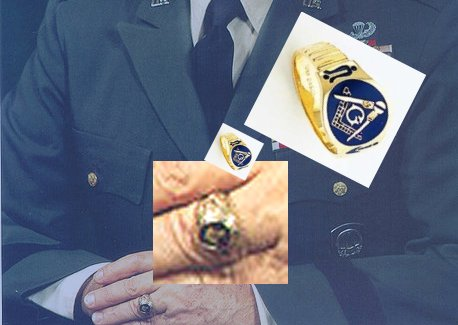 General Lemnitzer's ring appears to have been that of a Freemason.