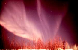Norhern Lights will be seen more often during a solar maximum.