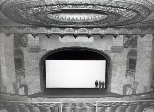 Ponca City, Poncan Theatre, November 1954
