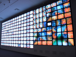 Smithsonian American Art Museum, Nam June Paik video installation