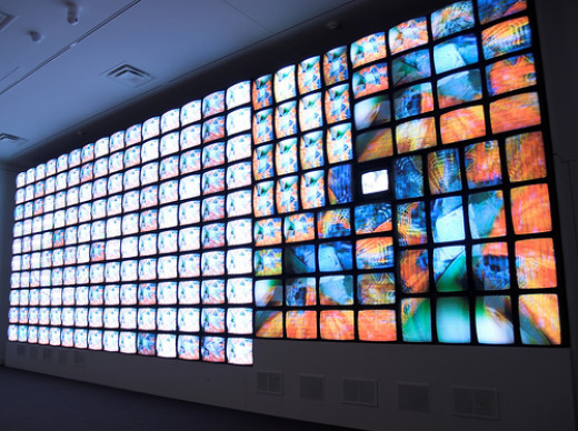 Smithsonian American Art Museum, Nam June Paik video installation