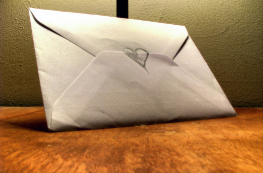 A simple hand written letter can show your partner how much you love and care about them