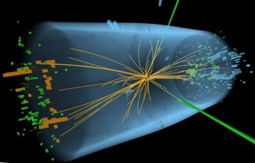 The powerful LHC's Compact Muon Solenoid (CMS)