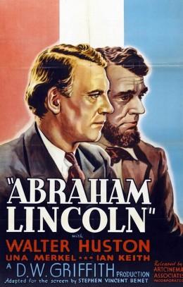Abraham Lincoln (1930) poster