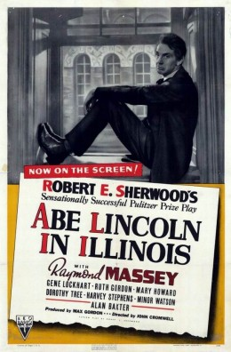 Abe Lincoln in Illinois (1940) poster