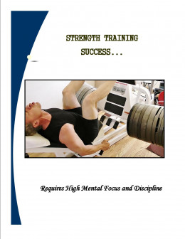 Author leg pressing 1,210 pounds. It takes great focus and mental toughness to lift this kind of weight.