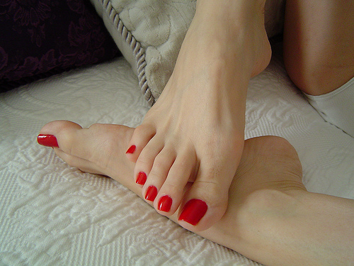 Healthy feet - care