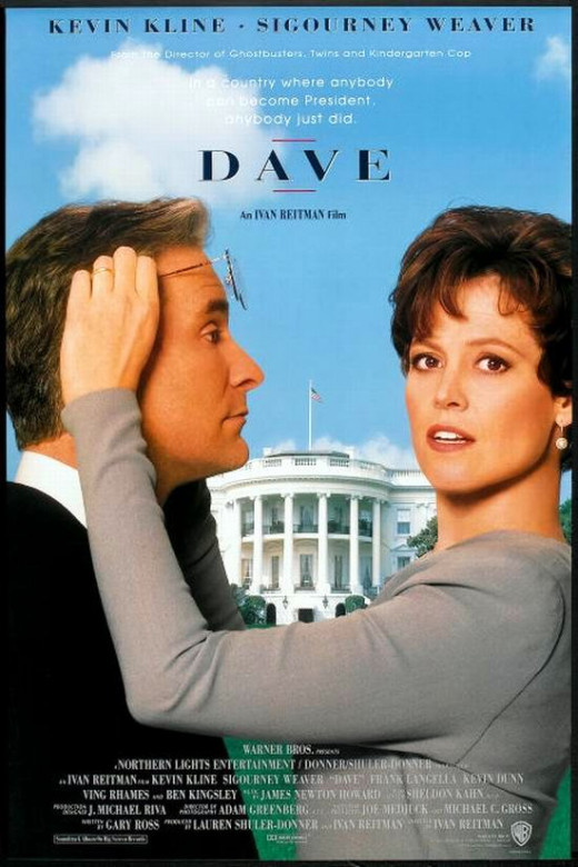 Dave (1993) poster