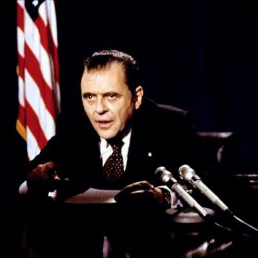 Anthony Hopkins as Nixon (1995)