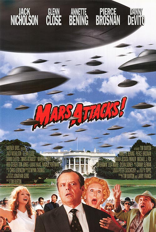 Mars Attacks! (1996) poster