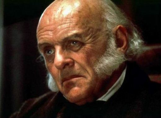 Anthony Hopkins as John Quincy Adams in Amistad (1997)