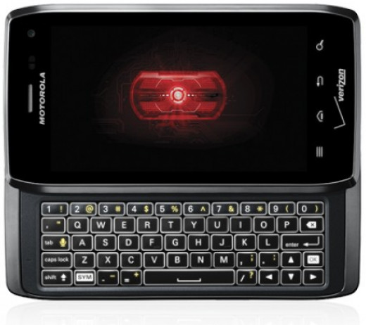 The Motorola Droid 4