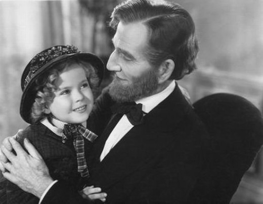Shirley Temple meets the President in The Littlest Rebel (1935)