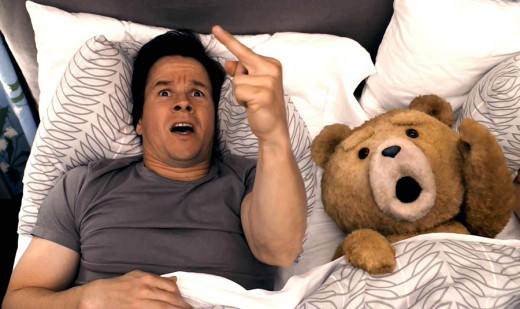 "The ""Thunder Buddy Song"" scene in Seth MacFarlane's Ted, which released last Friday."