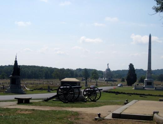 August 2011, Gettysburg