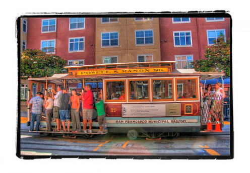 Ride a cable car and take your camera and your love.