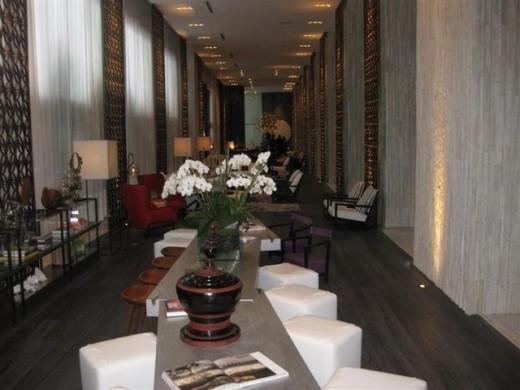 Lobby at W South Beach
