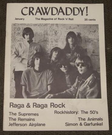 Crawdaddy! issue in 1967