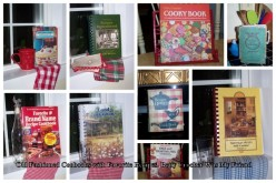 Old Fashioned Cookbooks With Favorite Recipes. Betty Crocker Was My Friend.