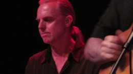 Ron Rhinehart, plays keyboards as a member of  Peter White's band.