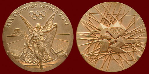 London Olympic Gold Medals