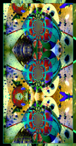 """Cosmic Cuckoo Clock"" by Robert G. Kernodle, from the ""Big Amazing Abstract"" Gallery at"