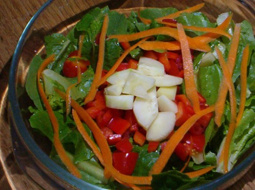 Yummy salads are easy to create anytime - you just need a plan.