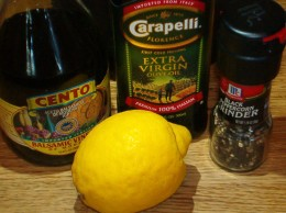 A good vinaigrette only takes a few simple ingredients.