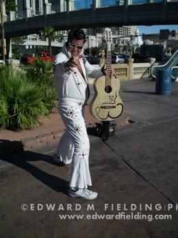Elvis on the Las Vegas Strip