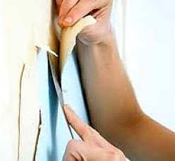 Best Way to Remove Wallpaper, Glue, Paste Residue and Borders