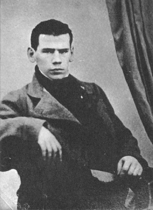 Leo Tolstoy as a young man