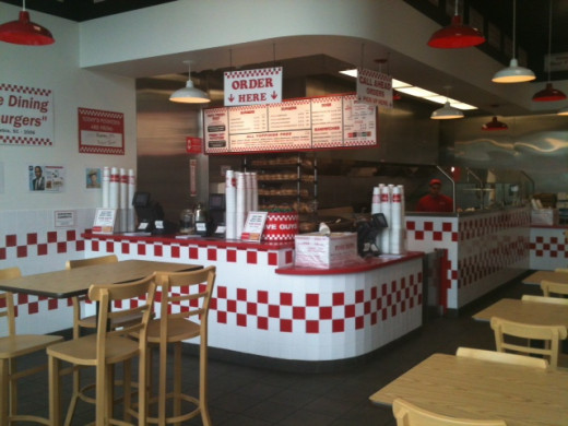 Five Guys in West Covina