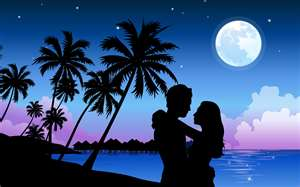 People's moods at full moon may rise to maximum sentiments as magnetic lines    of force in the magnetosphere between Earth and its satellite intensify to high    concentration.