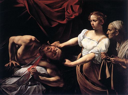 Le Caravaggio, Judith Beheading Holopherne