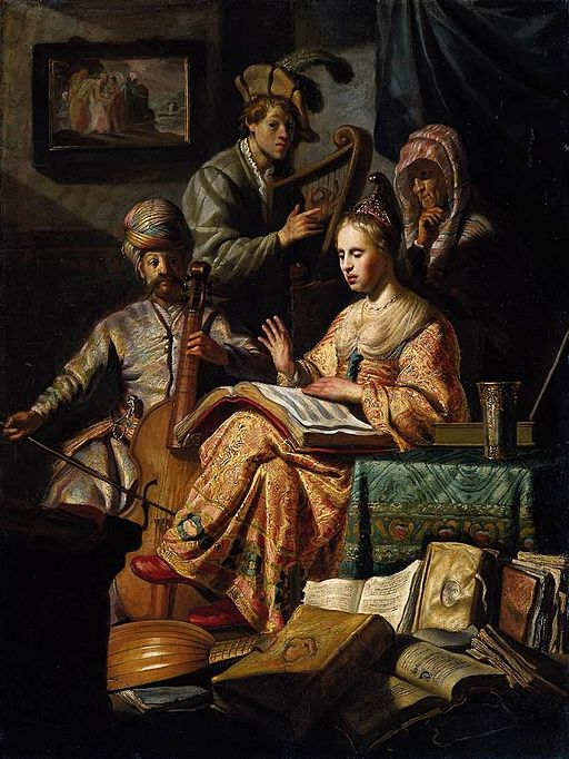 Rembrandt - The Music Party